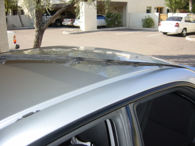 How To Remove Black Roof Strips To Install A Euro Roof
